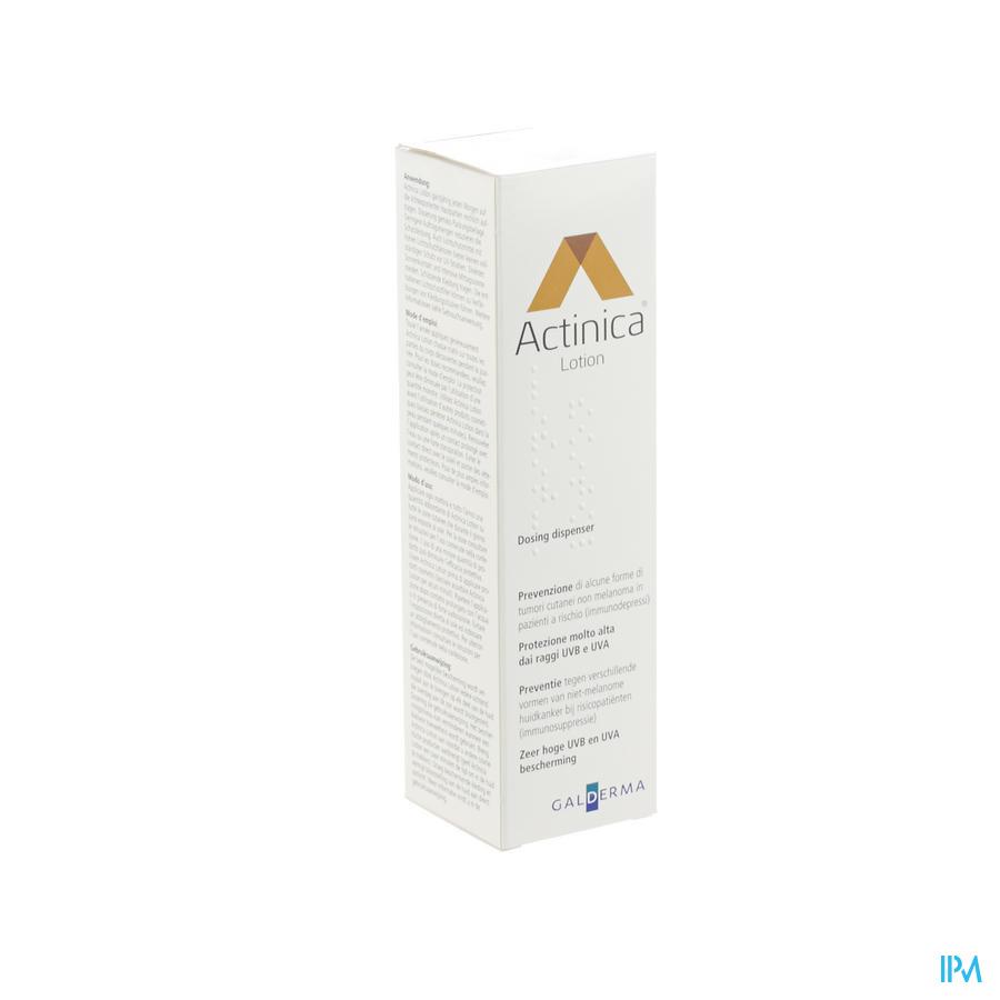 Afbeelding Actinica Lotion Pompflacon 80 g.