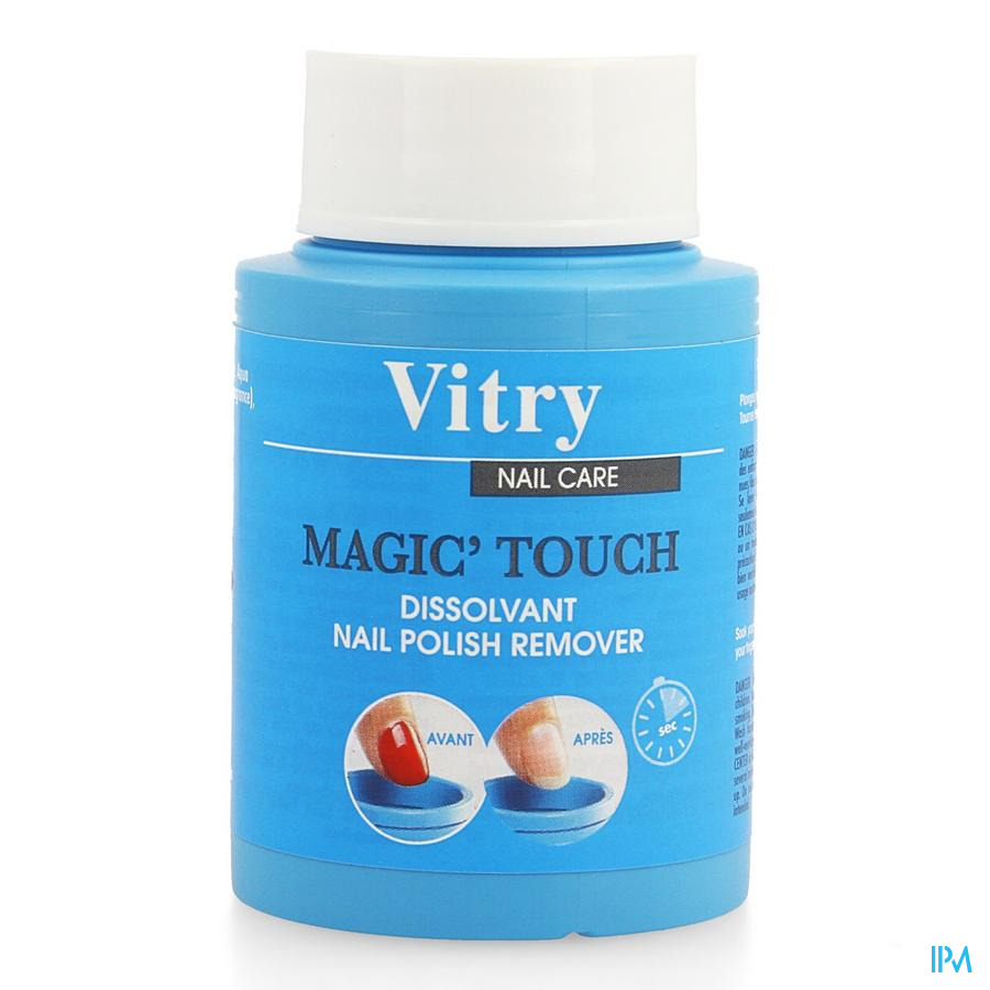 Vitry Dissolvant Magic Touch Z/aceton 75ml