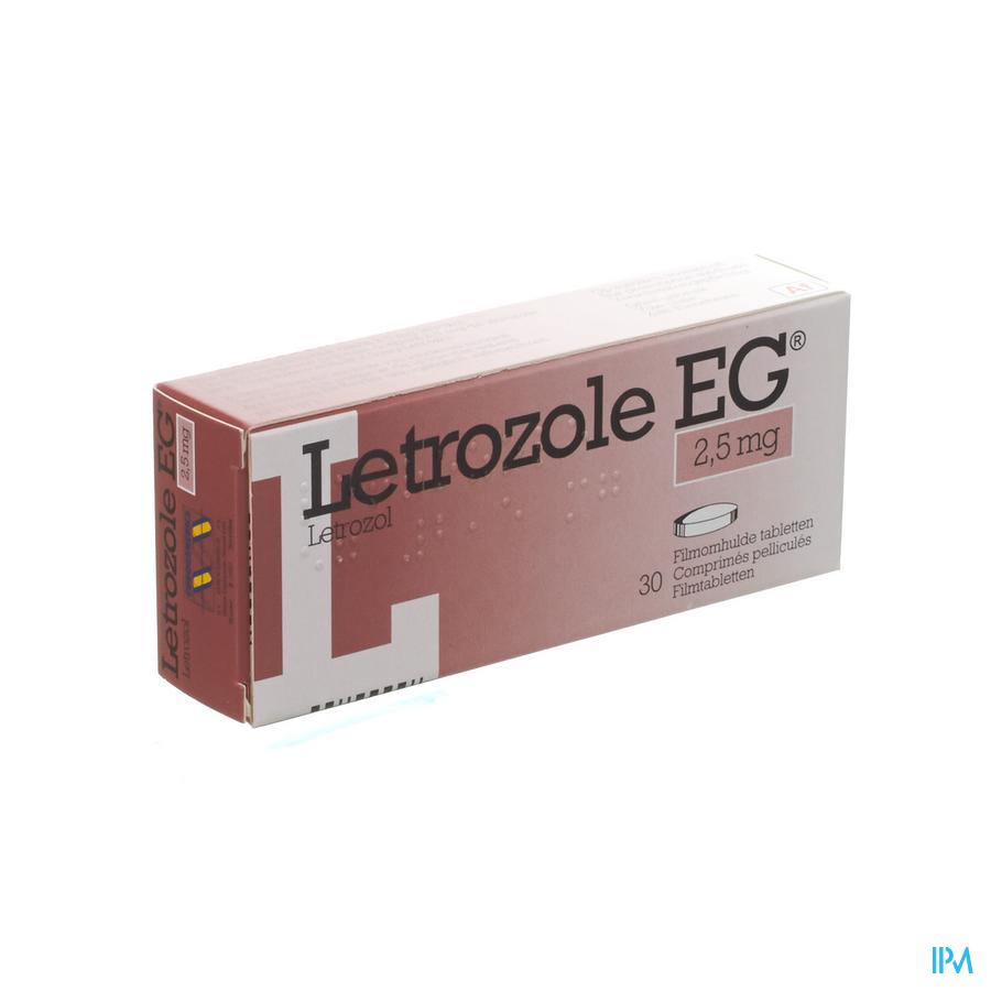 Letrozole Eg 2,5mg Comp 30