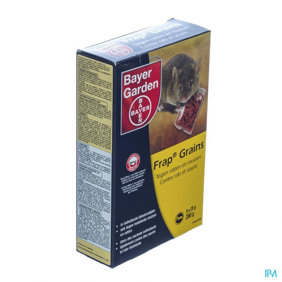 Frap Granen Tegen Ratten En Muizen 8x25g
