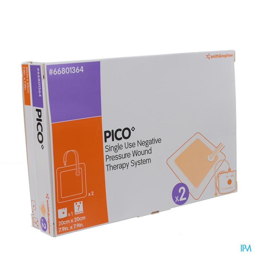 Pico Kp Steriel Siliconen 20x20cm 1x2 66801364