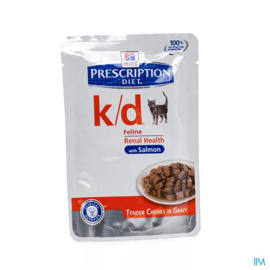 Hills Prescrip.diet Feline Kd Salmon 12x85g 1884u