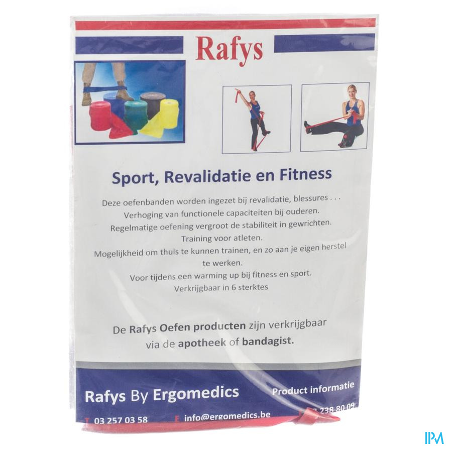 Rafys Theraband 5m Medium Rood 2092