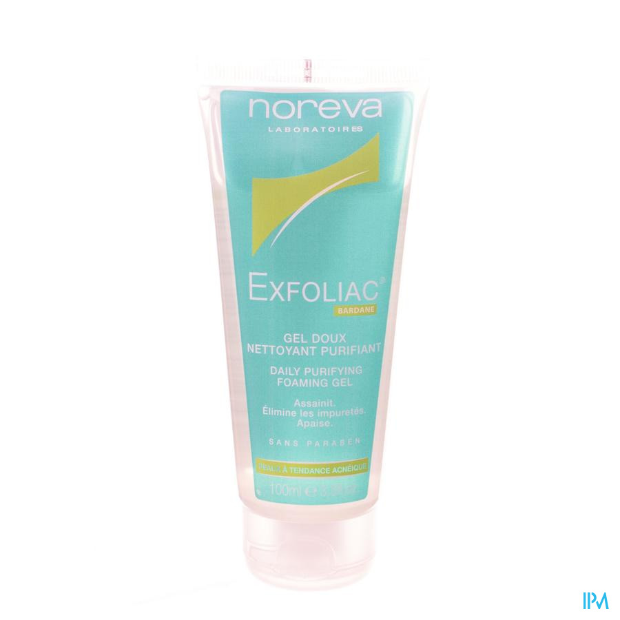 Exfoliac Gel Zacht Reinig. Zuiverend Tube 100ml