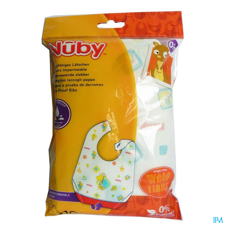 Nuby Bavoirs Jetables  10 pieces
