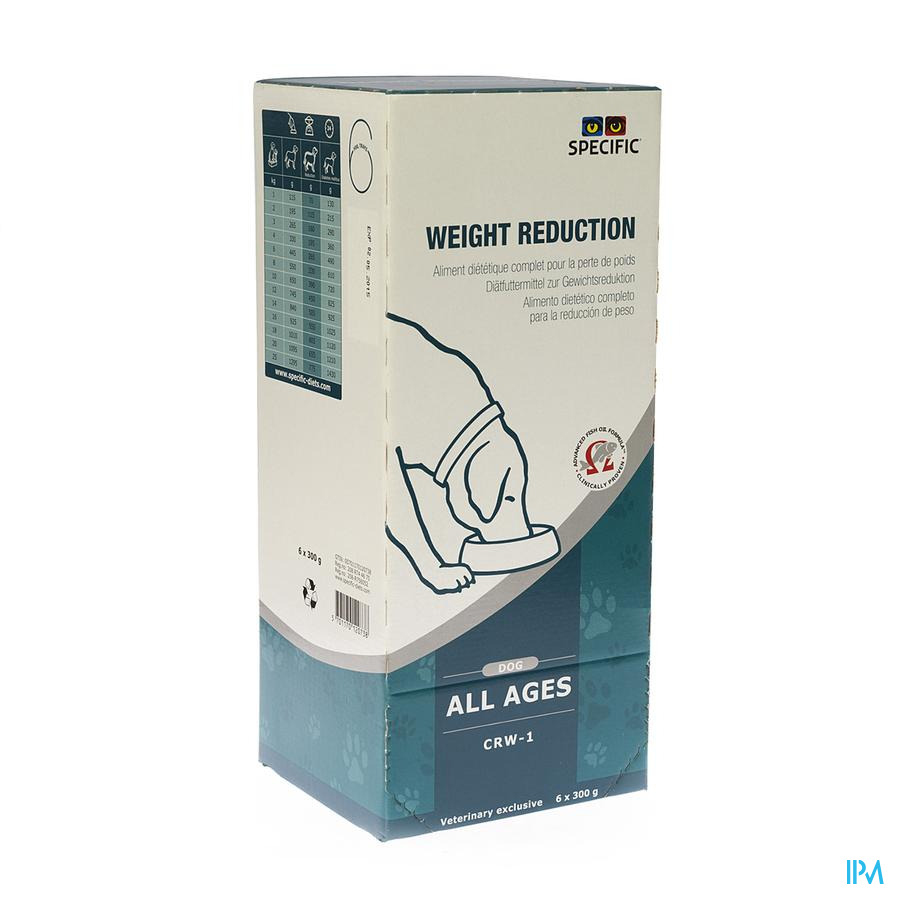 SPECIFIC CRW-1 WEIGHT REDUCTION         6X300G