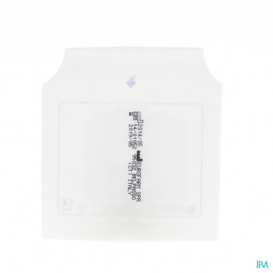 Euromed 6x 7cm 1 Pansement D'ile Adhesive Steril