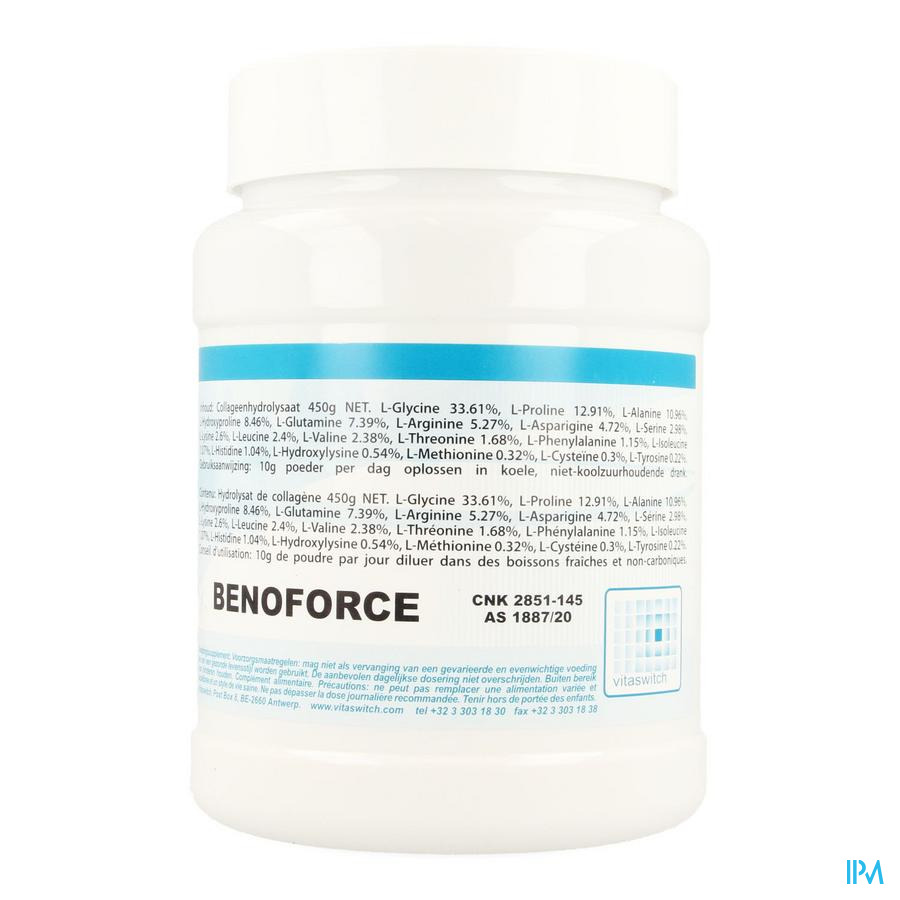 Benoforce Pdr Pot 450g