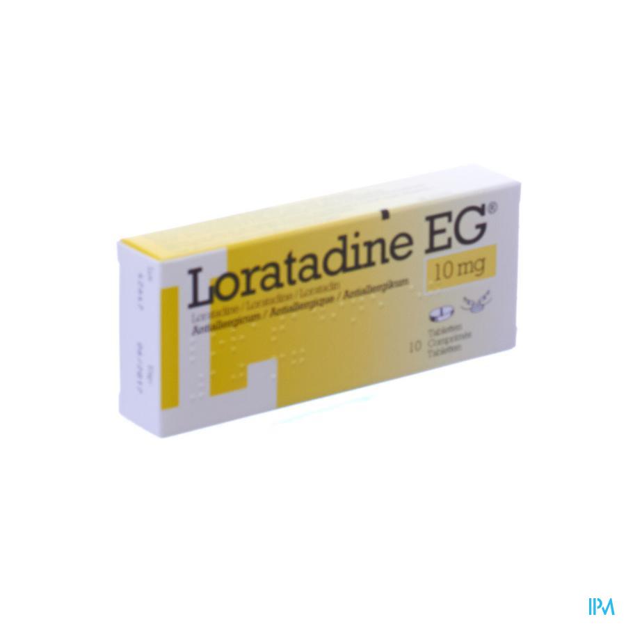 Loratadine EG 10 mg Tabletten 10 X 10 mg