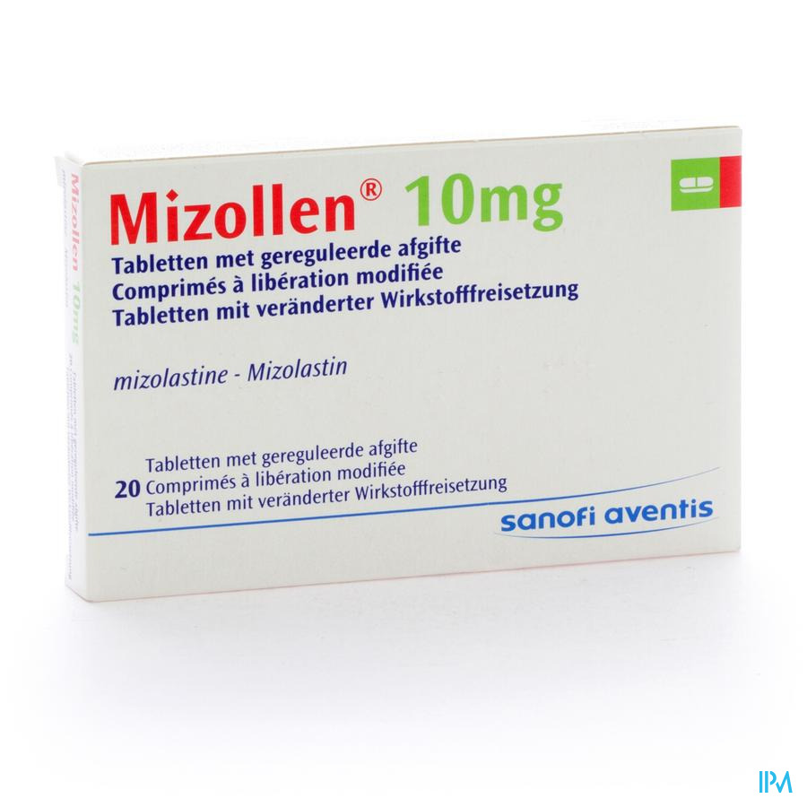 Mizollen Comp 20 X 10mg