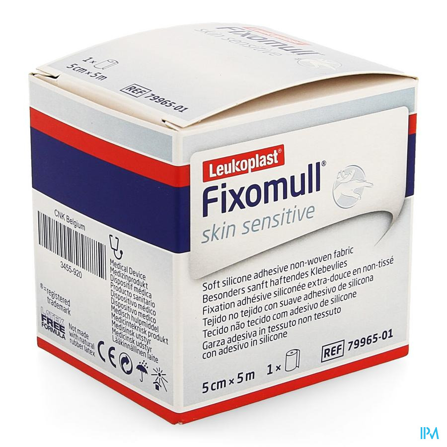 Fixomull Skin Sensitive 5cmx5m 1 7996501
