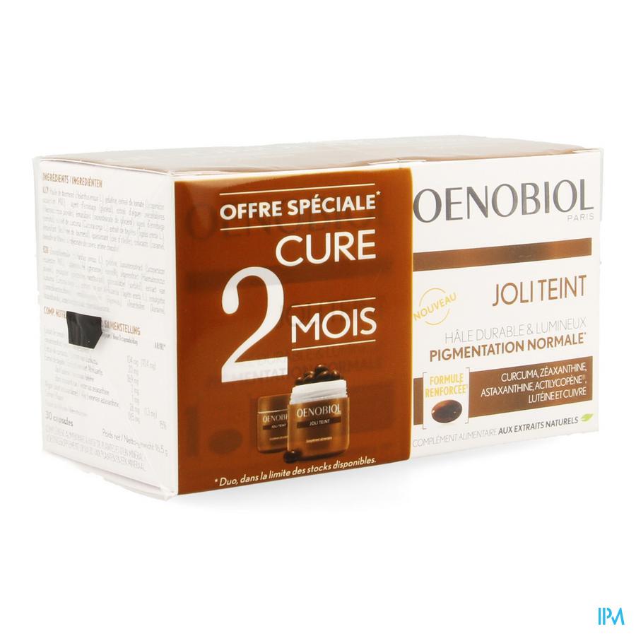Oenobiol Joli Teint Caps 2x30 NF
