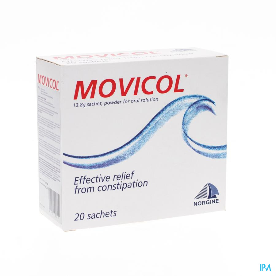 Movicol Sachets Zakjes 20 X 13,8 Pi Pharma Pip