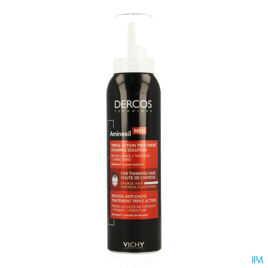 Vichy Dercos Schuim Aminexil Men 150ml