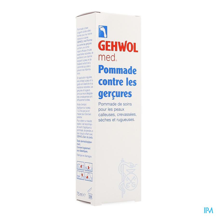 Gehwol Med Pommade Gercures Tube 75ml 11140105