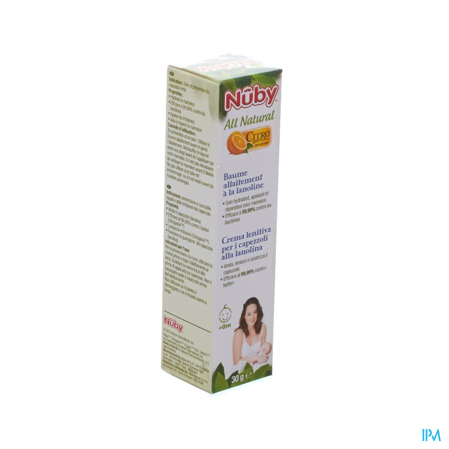 Nuby Citroganix Tepelcrème met lanoline – 30g