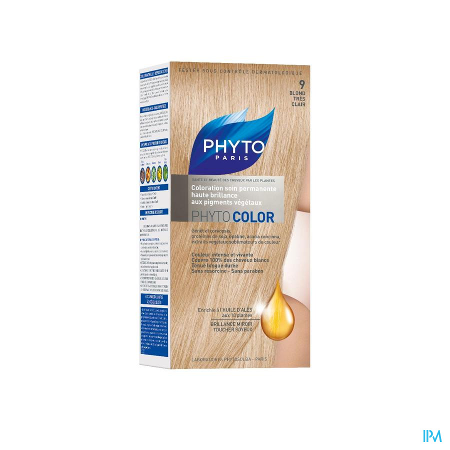 Phytocolor 9 Blond Tres Clair