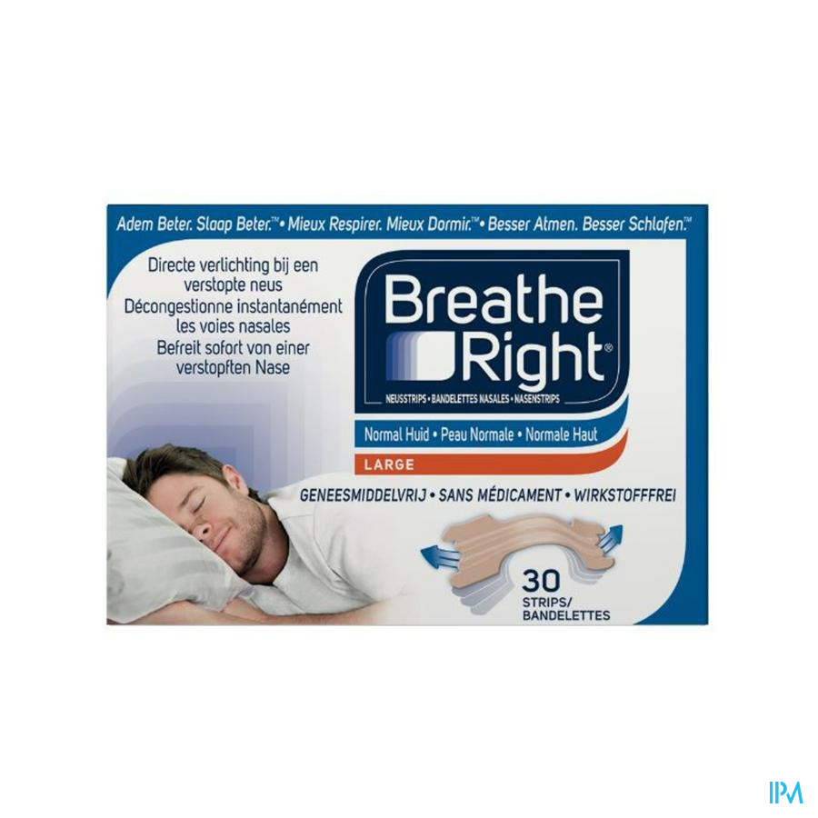 BREATH RIGHT NEUSSTRIP TANNED 30 ST