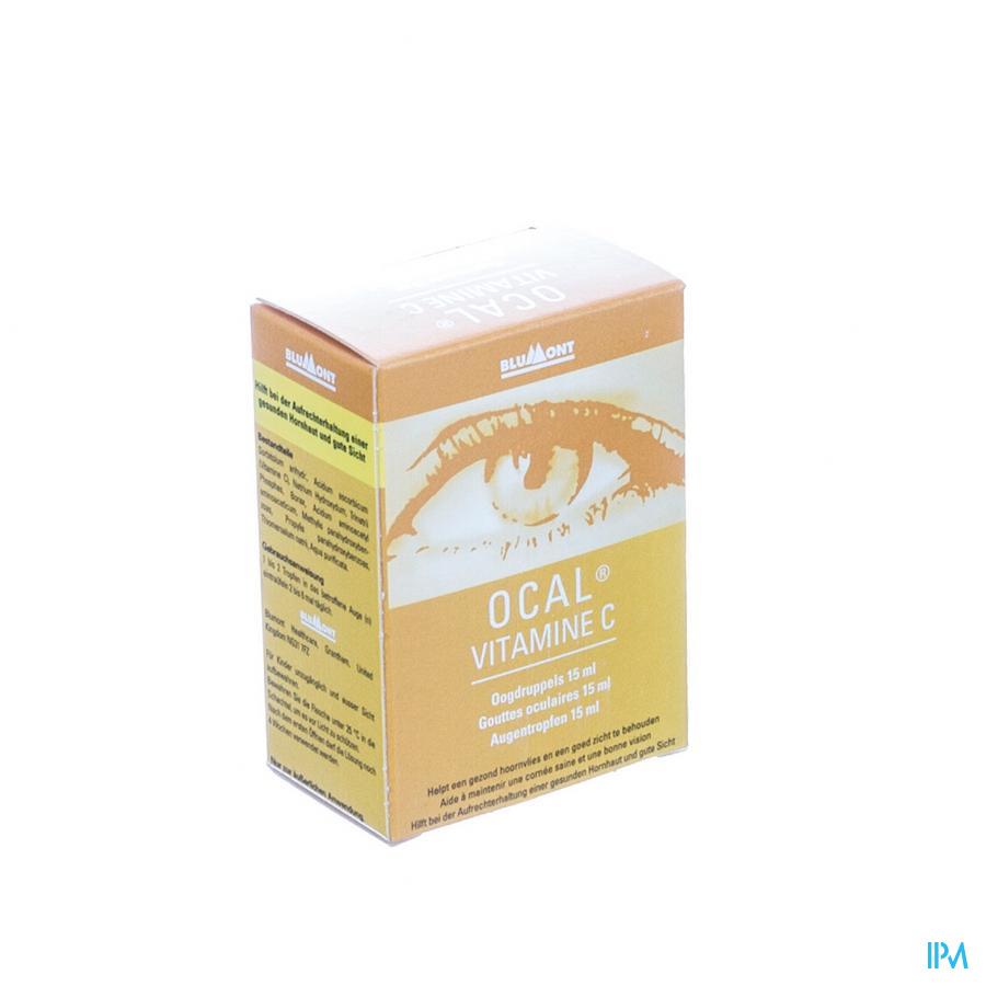 Ocal Vitamine C Oogdruppels 15ml