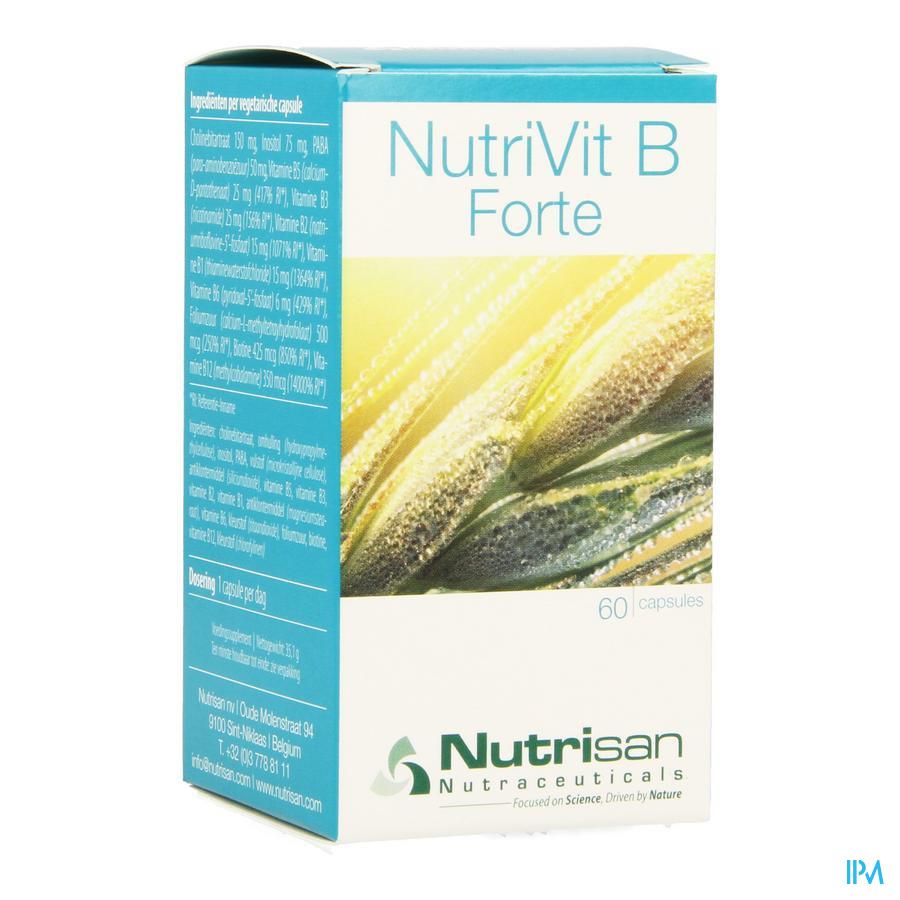 Nutrivit B Forte V-caps 60