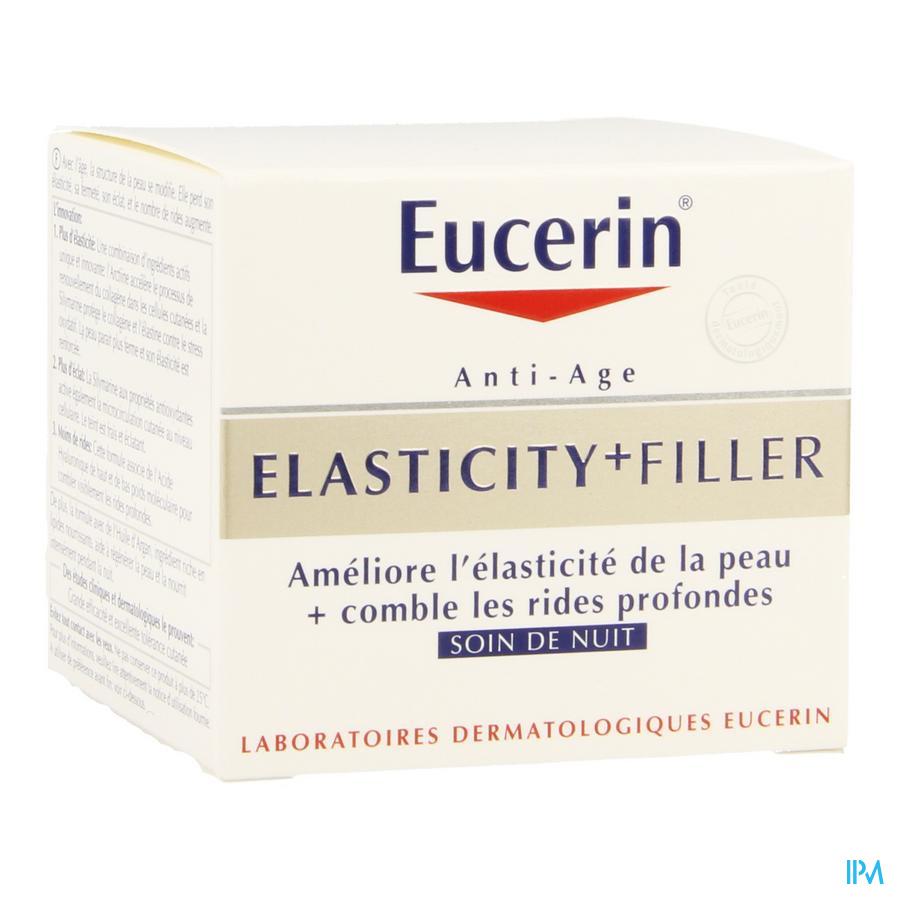 Eucerin Elasticity+ Filler Soin Nuit 50ml
