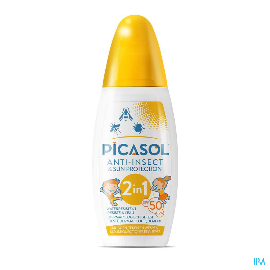 Picasol Sun Ip50 & Insect Protection Spray 150ml