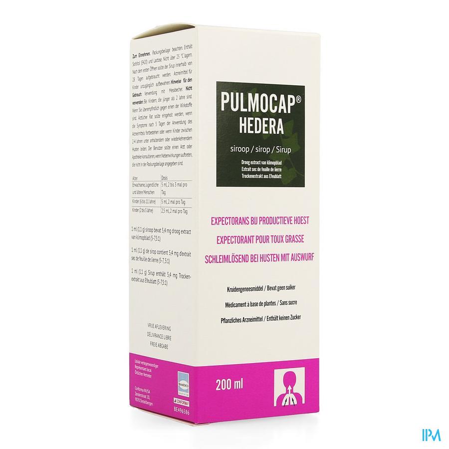 Pulmocap Hedera Siroop 200ml