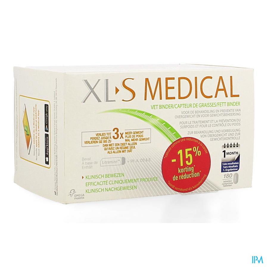 Xls Med. Vetbinder Comp 180 Promo -15%