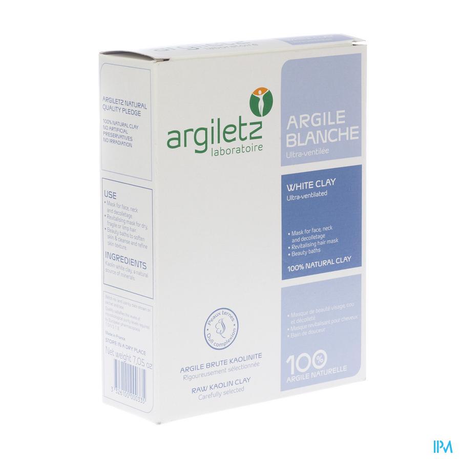 Argiletz Argile Blanche Ultra Ventilee Pdr 200g