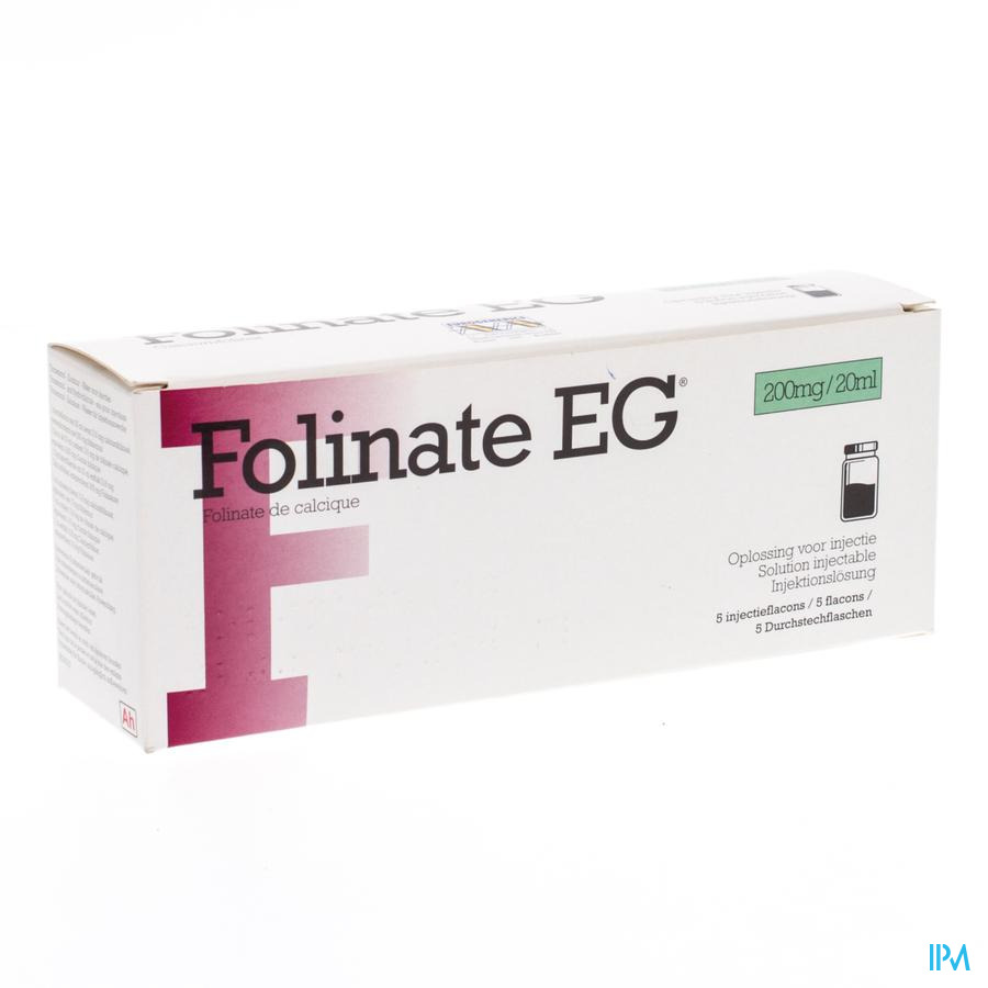 Folinate E.g. 500 5x50 Ml