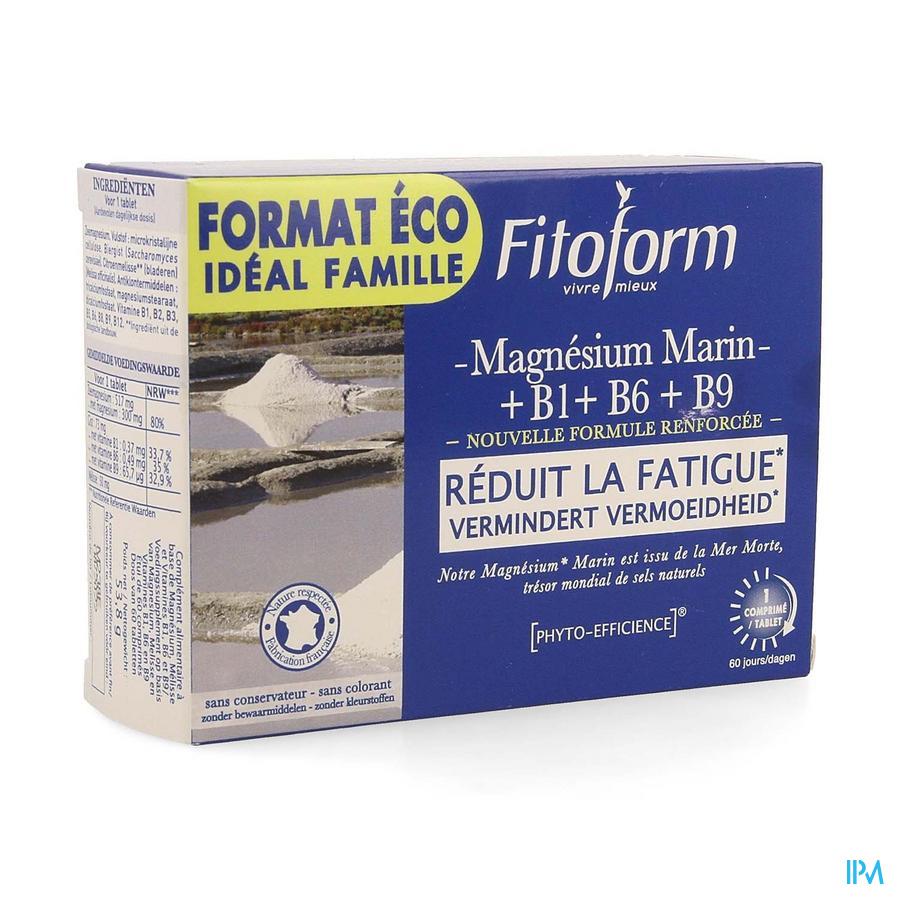 Fitoform Zeemagnesium + B1+b6+b9 Nf Caps 60
