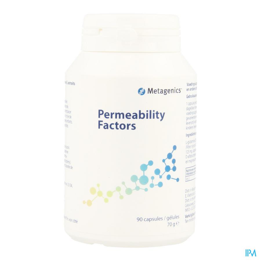 Permeability Factors Capsule 90 69 Metagenics