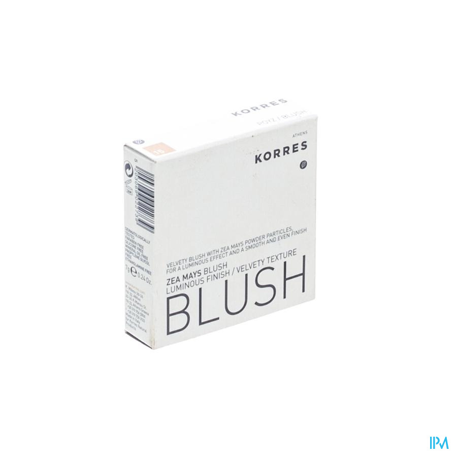 Korres Km Blush Zea Mays 15 Natural