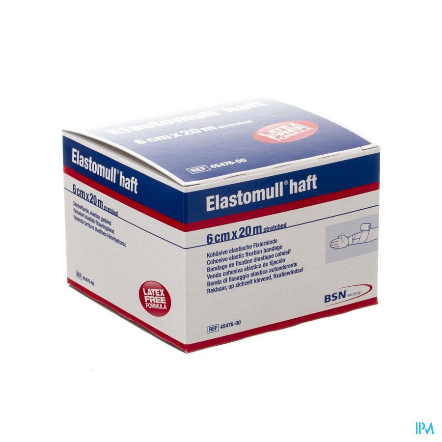 Elastomull Haft Latexvrij 6cmx20m 4547600