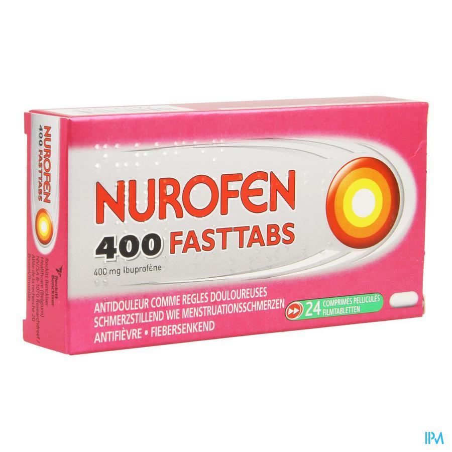 Nurofen 400 Fasttabs 24 X 400 mg