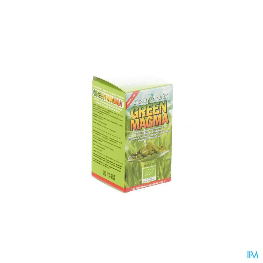 Green Magma 136 Comp 136 36 Metagenics