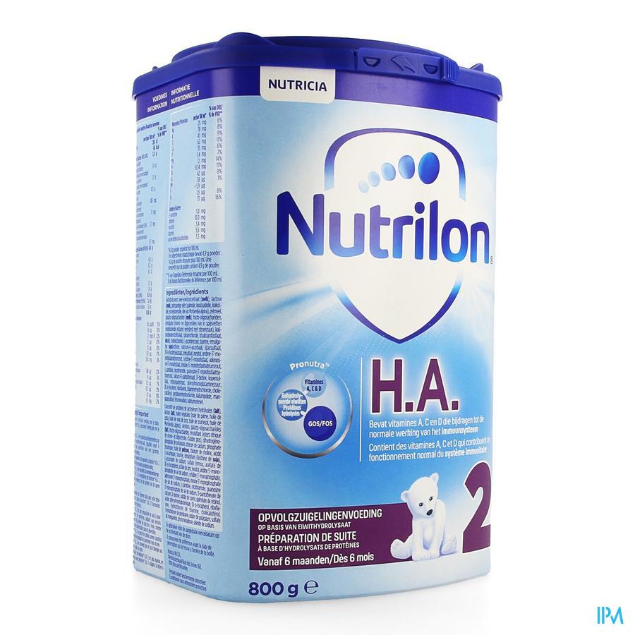Nutrilon 2 Ha Opvolgmelk Na Ha1 Pdr 800g