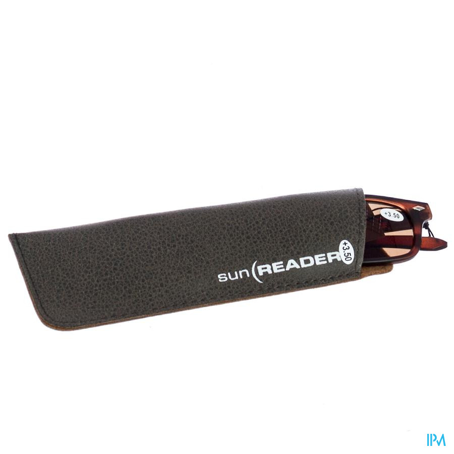 Sunreader Zonneleesbril +3.50 Brown