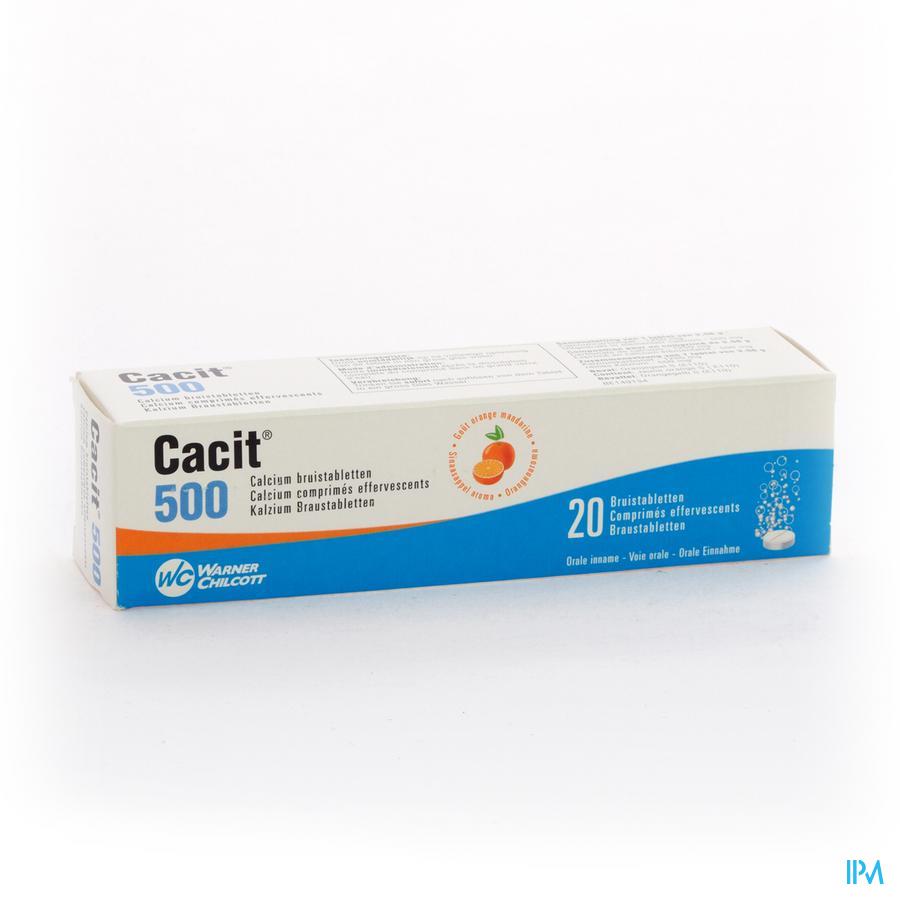 CACIT  500 TABL EFF 20X500MG