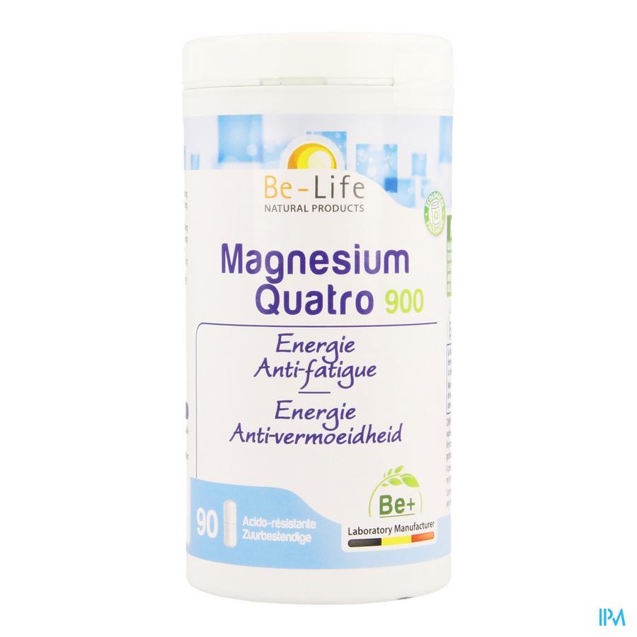 Magnesium Quatro 900 Be Life Pot Caps 90