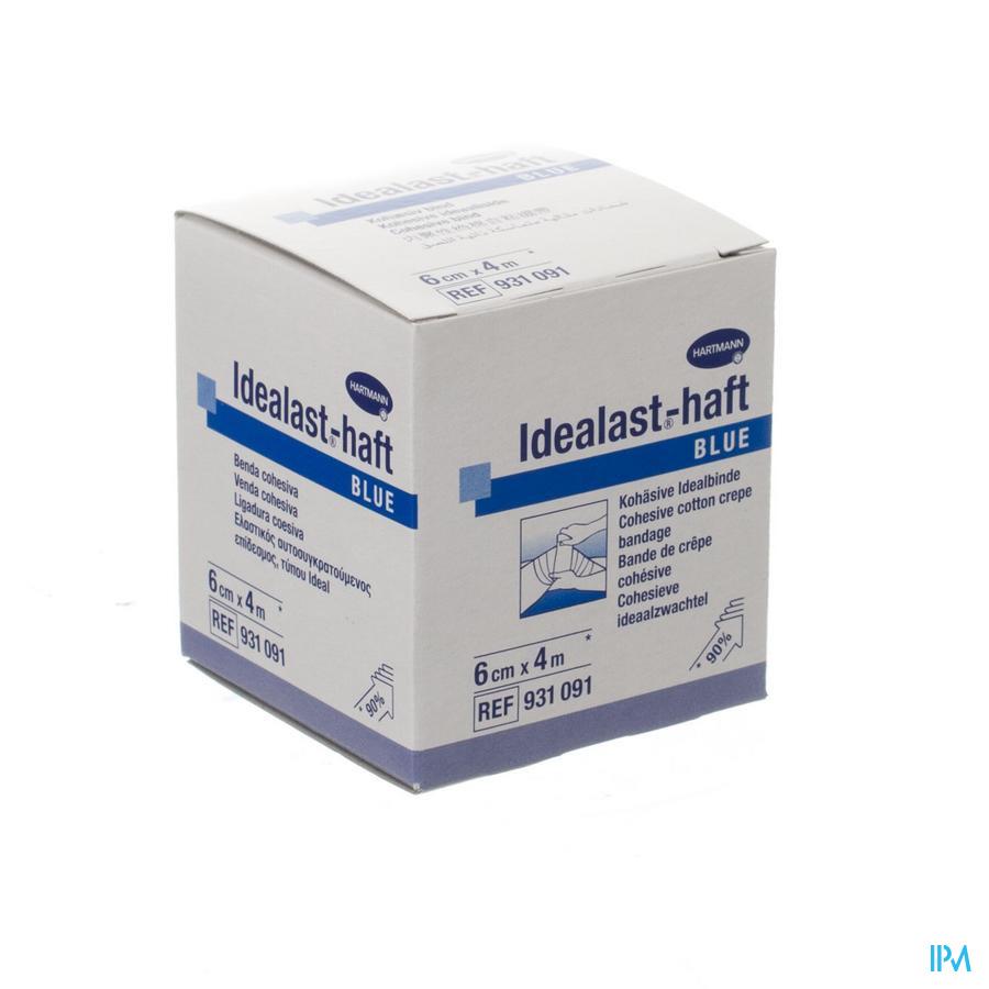 Idealast-haft Blauw 6cmx4m 1 P/s