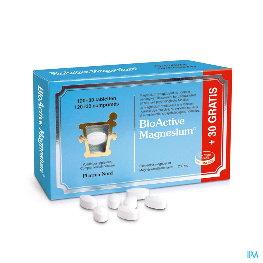 Bio Active Magnesium Comp 120+30