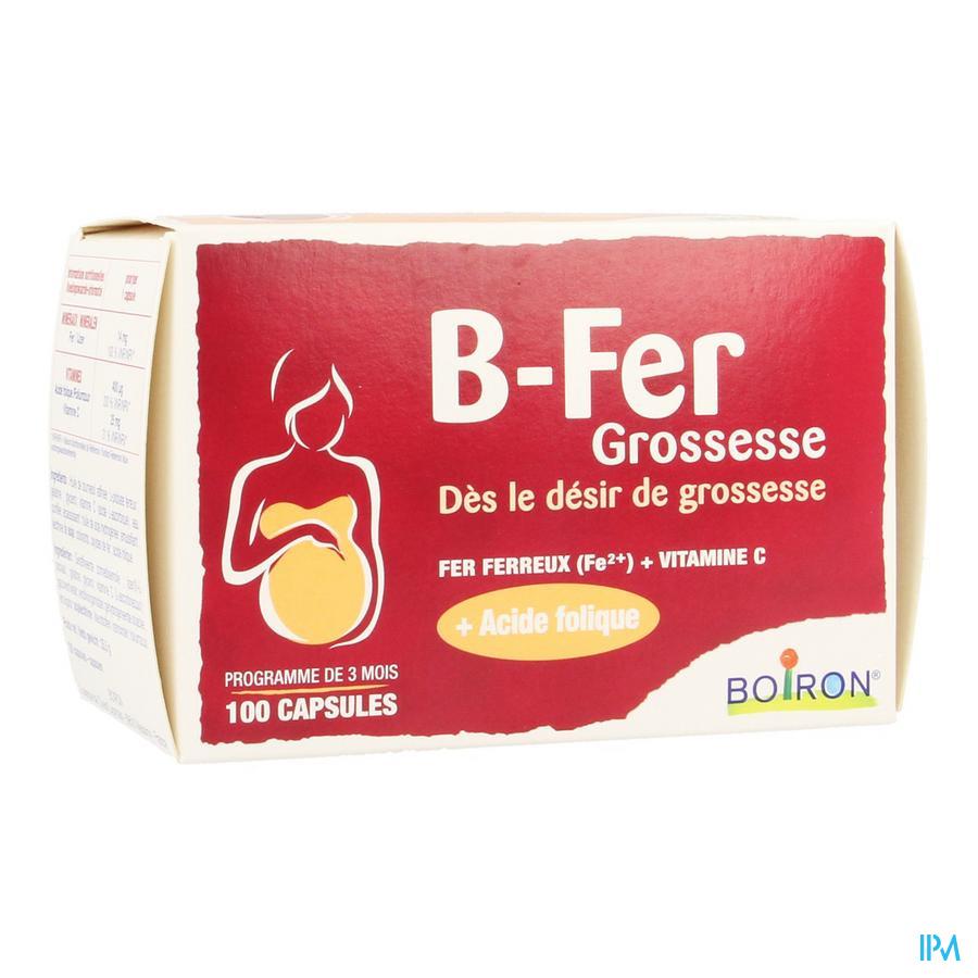 B-fer Grossesse Caps 100 Boiron