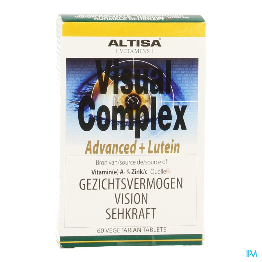 Altisa Visual Complex Advanced+luteine Tabl 60