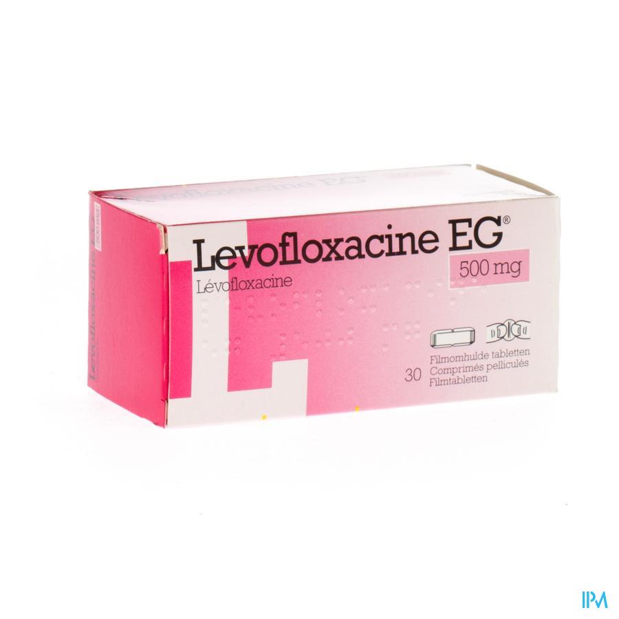 Levofloxacine Eg 500mg Comp Pell 30 X 500mg