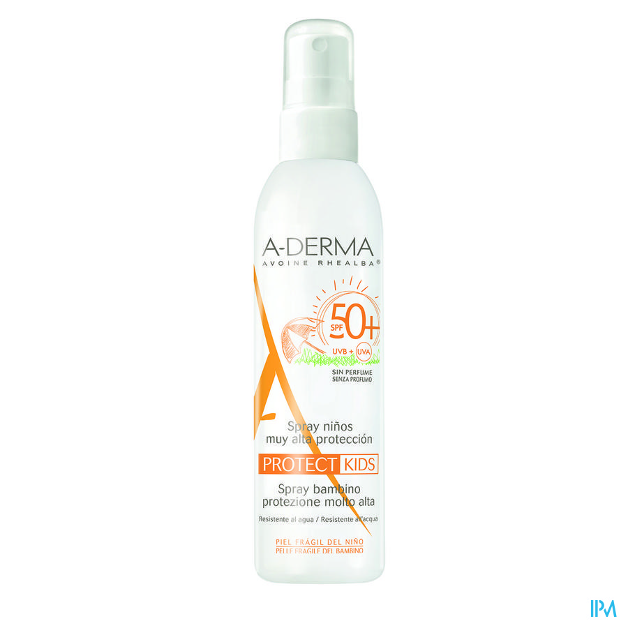 Aderma Protect Spray Kind Ip50+ 200ml
