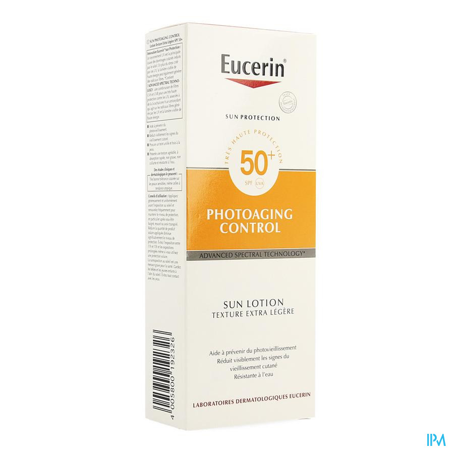 Eucerin Sun Photoaging Contr.ext.light Ip50+ 150ml