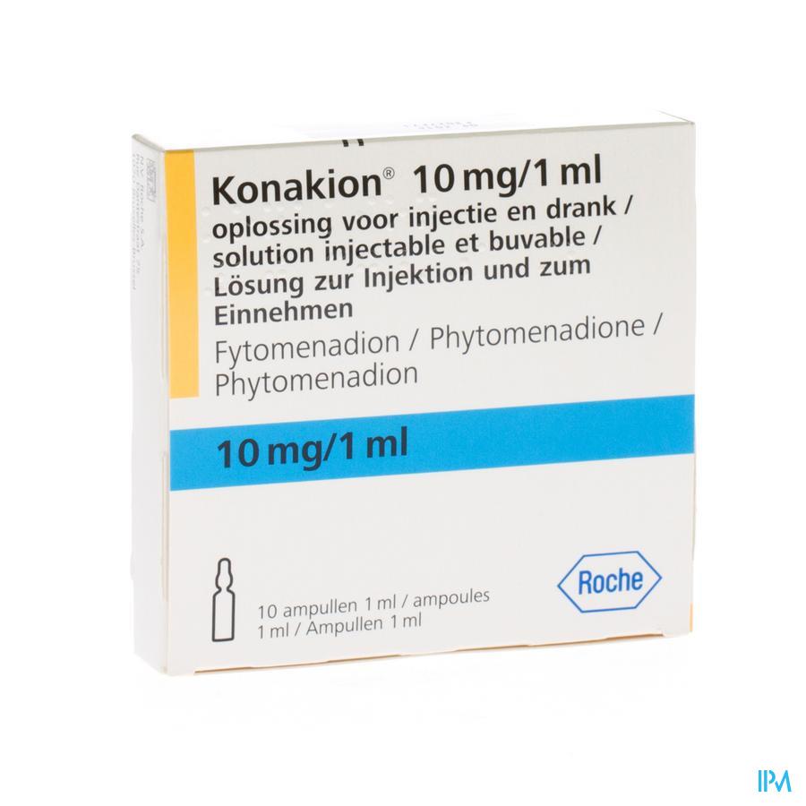 Konakion Amp 10 X 1ml/10mg
