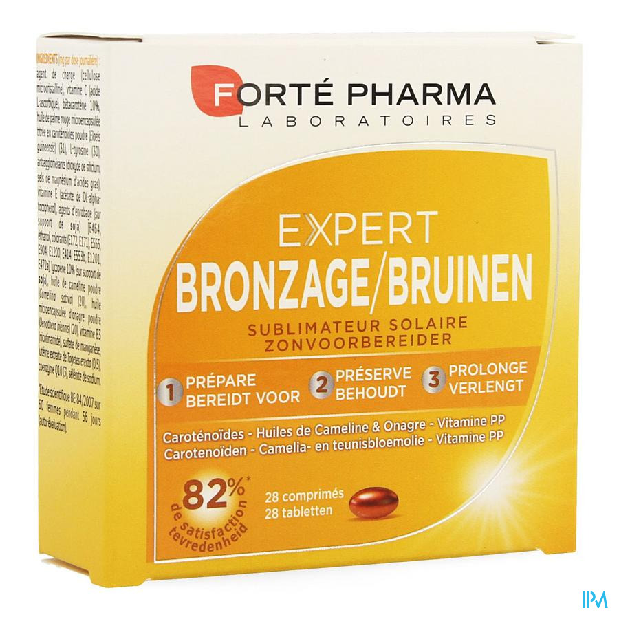 Bronzage Expert Comprimés 1x28