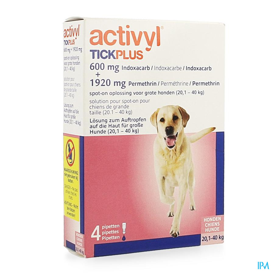 Activyl Tick Plus Opl. Spot-on 4x4ml